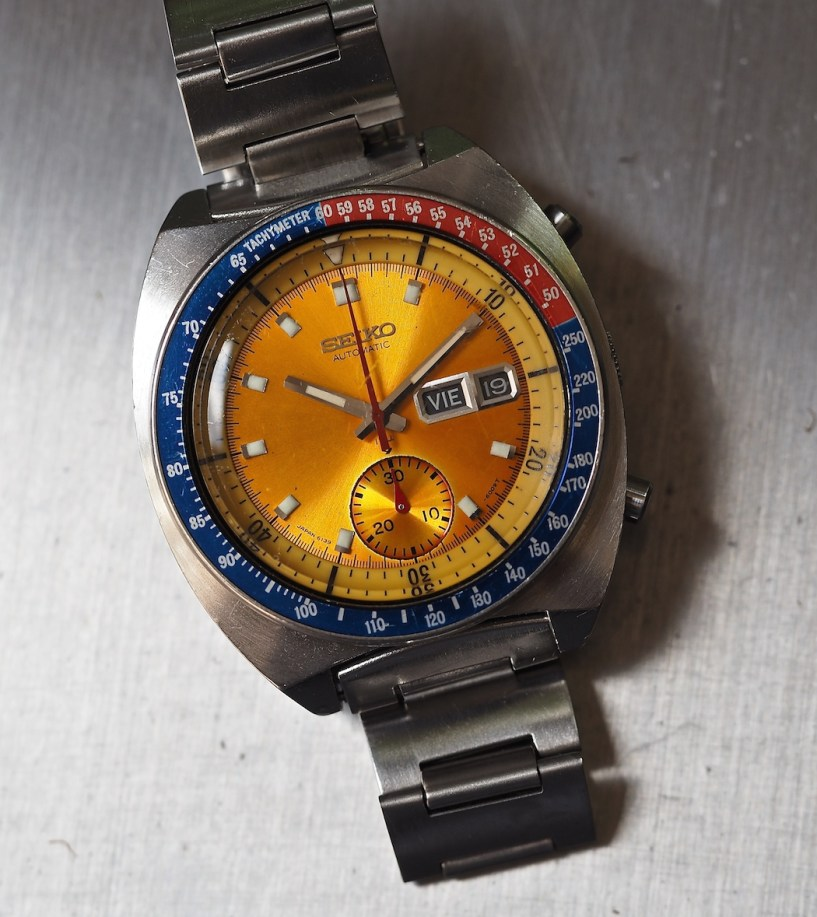 The Seiko 6139 Pogue - a watch worn in space for roughly 84 days