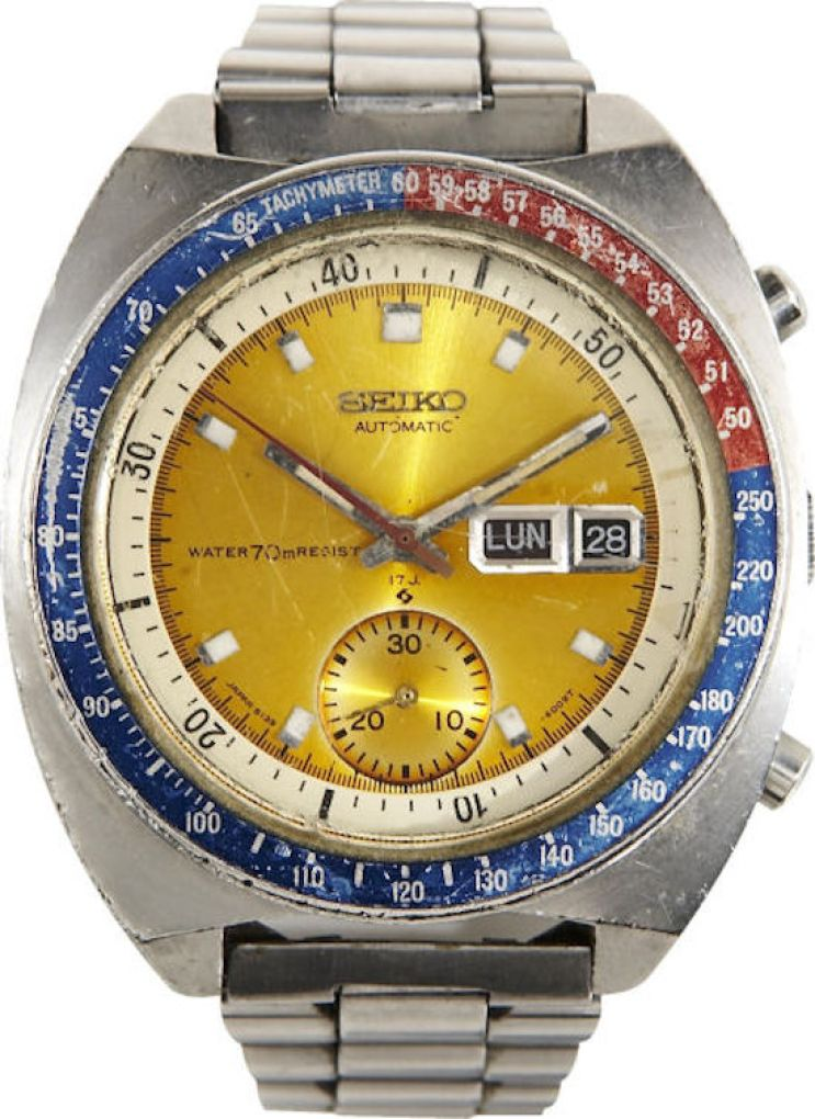 Col. Pogue's original Seiko 6139-6002 as sold in 2008 for roughly $6000