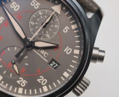 IWC Pilot's Watch Chronograph Top Gun Miramar Hands-On Hands-On