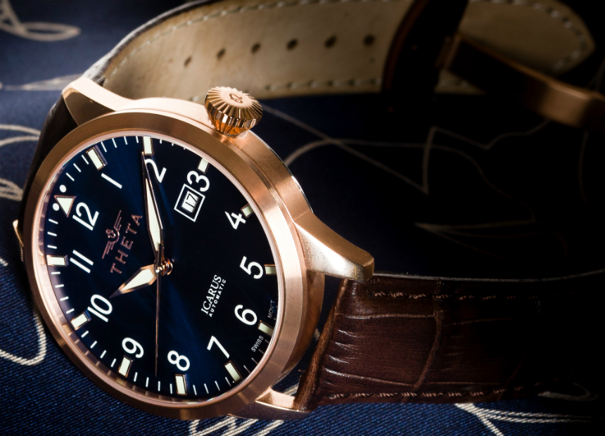 Theta Icarus Automatic Watch From Greece With Swiss Heart Watch Releases