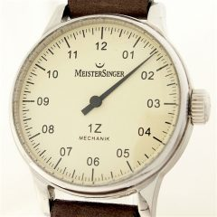 Meistersinger single handed watches